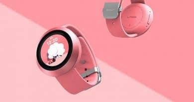 Naver Labs AKI kids' smartwatch