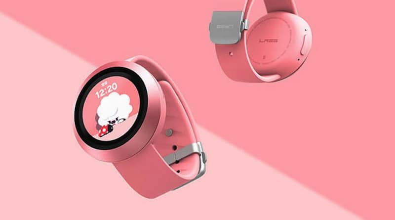 Naver Labs AKI kids' smartwatch