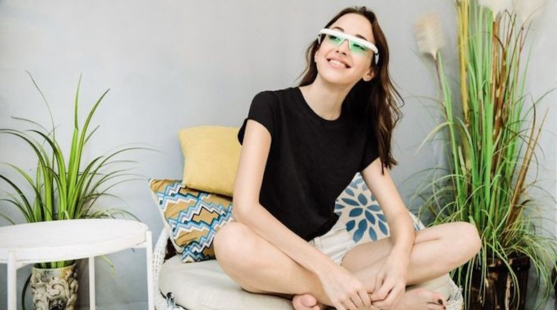 PEGASI Smart Sleep Glasses II: physical light treatment therapy for better sleep