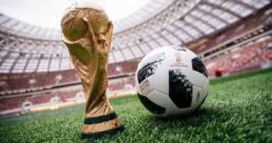 Wearable technology at FIFA World Cup 2018