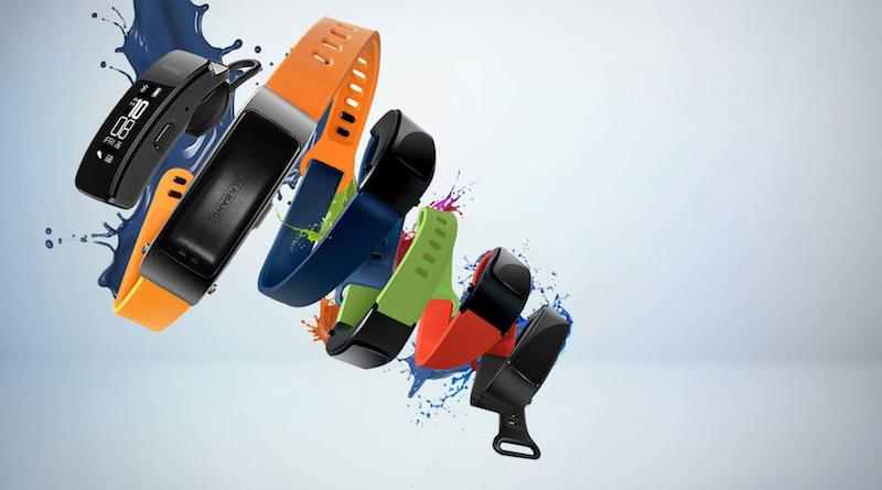 TalkBand B5 leak shows Huawei is still trying to squeeze a bluetooth headset into a fitness band
