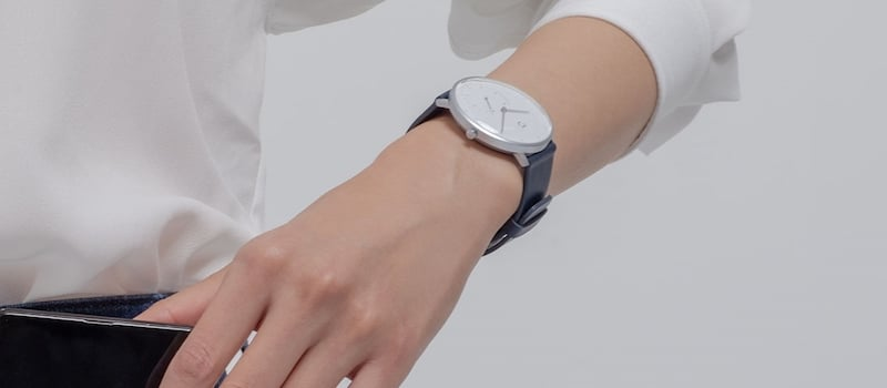 xiaomi miija 2 - Xiaomi launches Mijia, a low cost Quartz watch with smart features