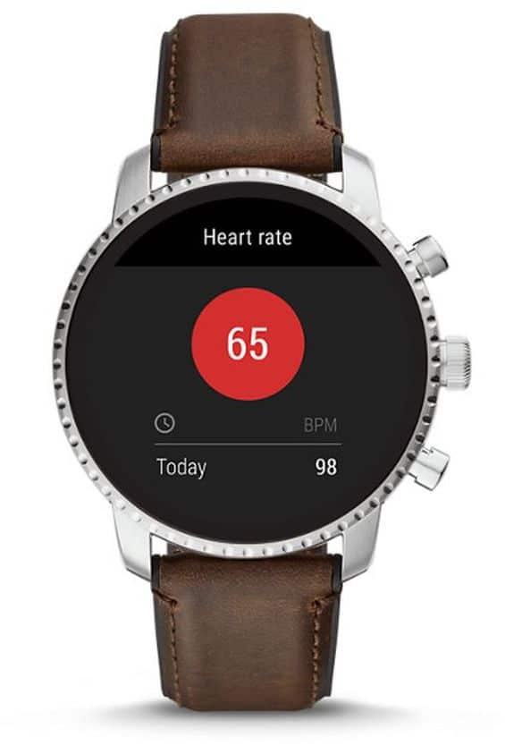 fossil s gen 4 smartwatches come with heart rate gps nfc and more - Fossil's fourth generation smartwatches come with heart rate, GPS and NFC