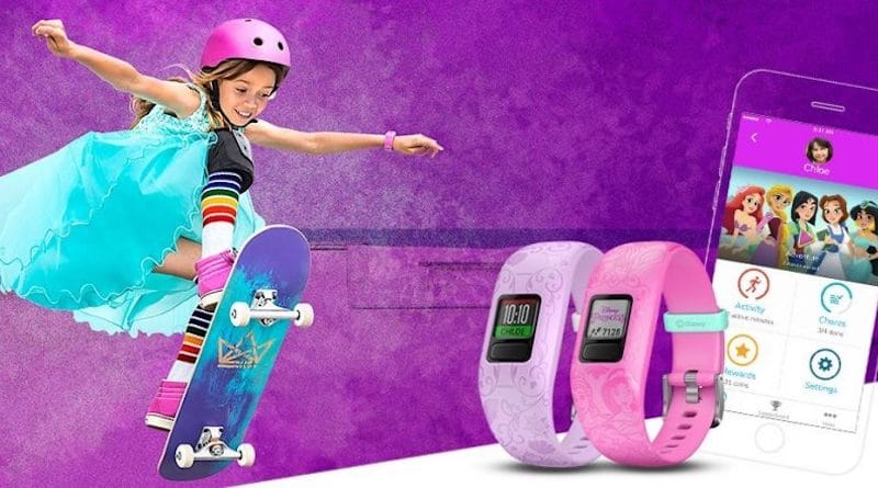 Garmin announces Disney Princess-theme for Vivofit Jr 2 kids band