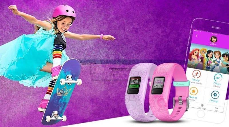 Garmin announces Disney Princess-theme for Vivofit Jr 2 kids band
