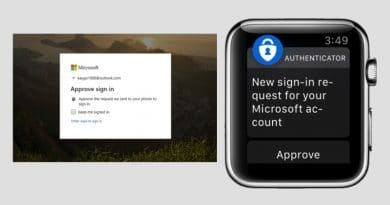 Go passwordless with the new Apple Watch app will sign you into a Microsoft account, no password needed