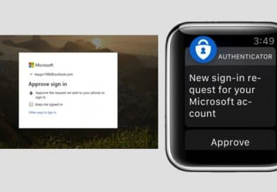 go passwordless with the new apple watch app will sign you into a microsoft account no password needed 392x272 - Microsoft