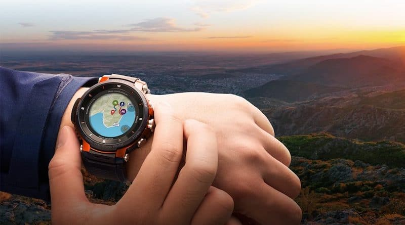 ifa 2018 casio announces new addition to its pro trek smart series - Casio's PRO TREK WSD-F30 watch is now available for purchase