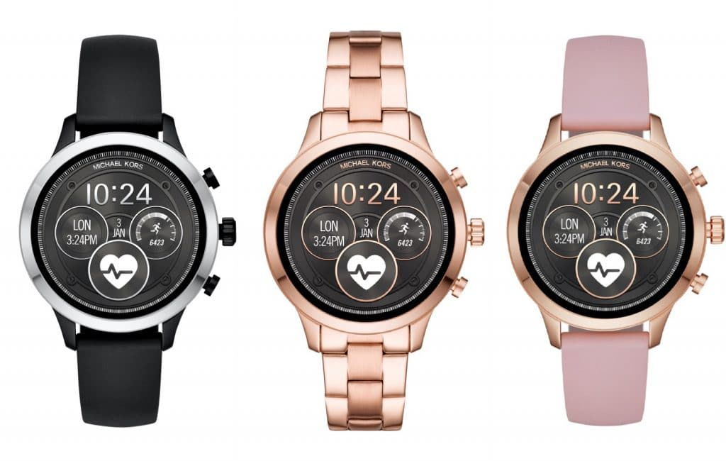 michael kors access runway comes with heart rate nfc gps and more 1 1024x650 - Michael Kors smartens up its signature Access range