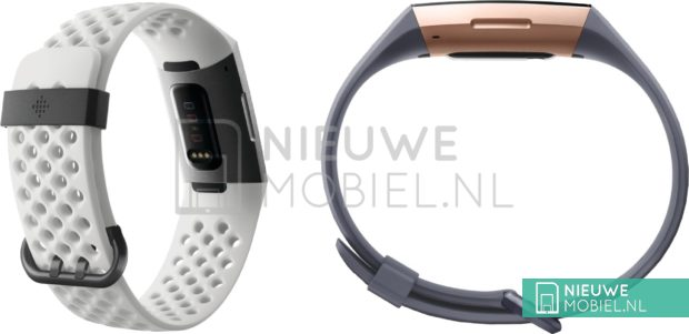 we now have the first images of fitbit charge 3 - Leaked images of Fitbit Charge 3 show a new design and selection of straps