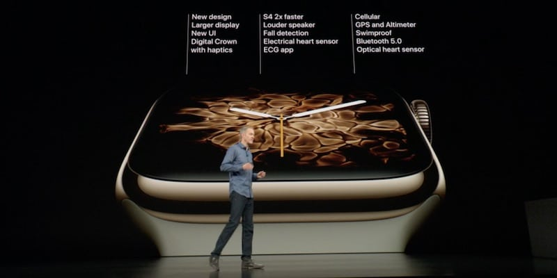 apple announces fourth generation watch with ecg bigger screen more 5 - Apple announces Series 4 Watch with ECG, fall detection & bigger screen