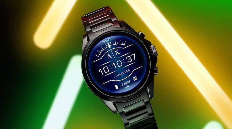Armani Exchange is the brands first touchscreen smartwatch