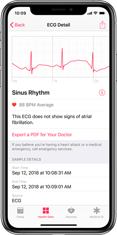 everything you need to know about apple s new ecg sensor - Region-switching will not enable Apple Watch's ECG feature internationally