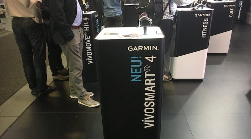 Hands on with Garmin Vivosmart 4 at IFA 2018