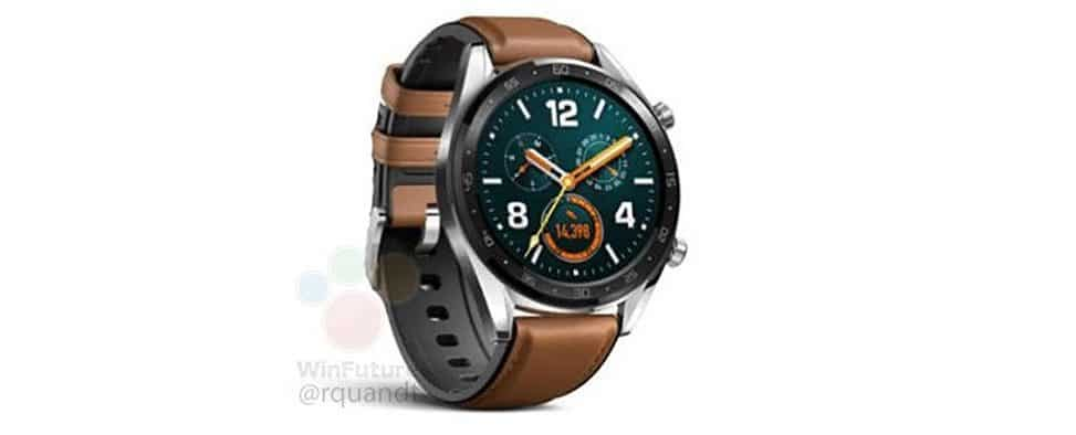 huawei watch gt to launch alongside terra fitness band full specs leaked 1 - Huawei Watch GT to launch alongside Terra fitness band, specs & pic leaked
