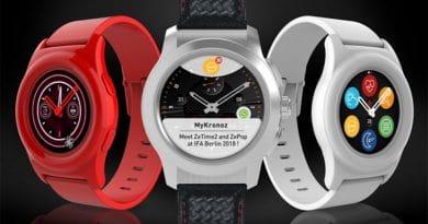 IFA 2018: MyKronoz rolls out ZeTime2 and ZePop smartwatches