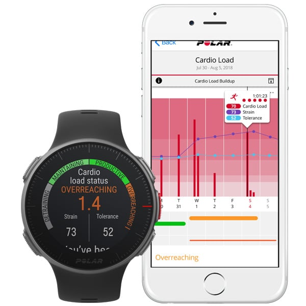 Polar's newest Global Positioning System  heart rate smartwatch lasts for 40 hours