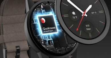Qualcomm's new chip gives Android watches a battery boost