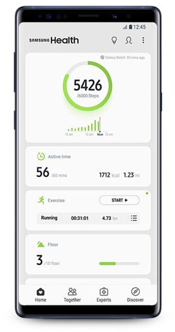 samsung health 6.0 brings new user interface and features - Samsung Health 6.0 brings a fresh user interface and additional features