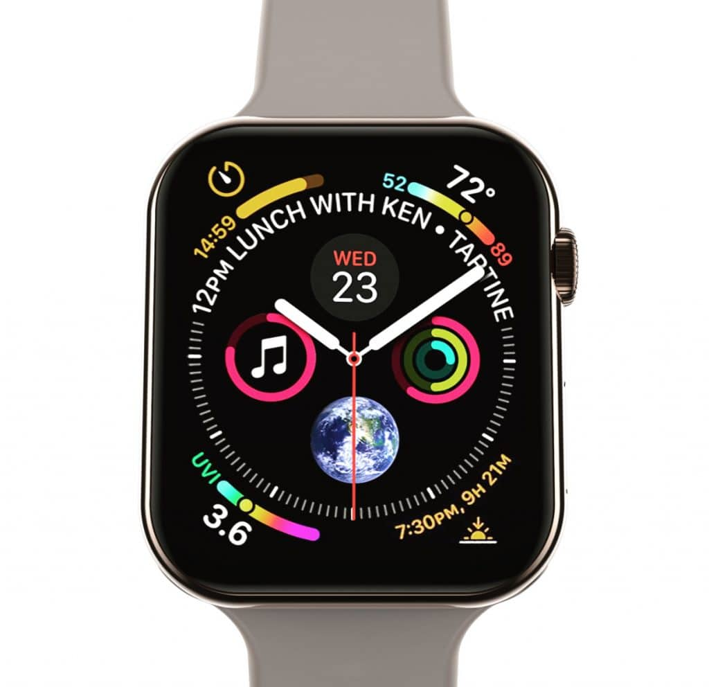 screenshots show apple watch series 4 will feel much less cramped 1024x992 - Screenshots show Apple Watch Series 4 will feel much less cramped