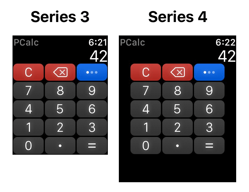 screenshots show apple watch series 4 will feel much less cramped - Screenshots show Apple Watch Series 4 will feel much less cramped