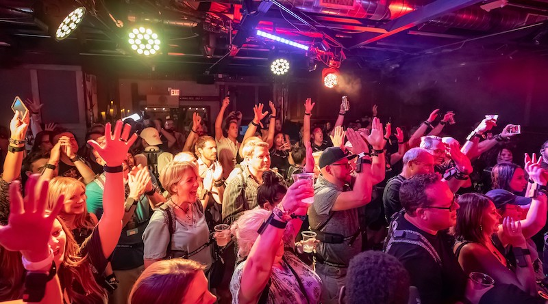 Wearable vest lets concert-goers feel music through vibration