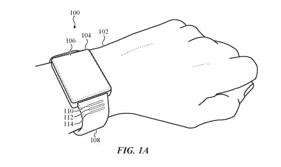 apple patents watch bands with led lighted activity progress indicators 1 - Apple patents watch bands with LED notification & activity progress lights
