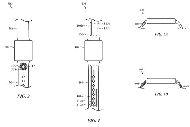 apple patents watch bands with led lighted activity progress indicators - Apple patents watch bands with LED notification & activity progress lights