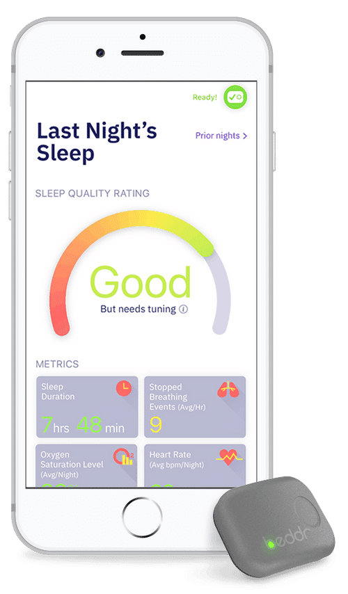 beddr unveils first fda registered consumer sleep tracker 1 - Beddr's FDA-registered sleep tracker is designed to help you catch more ZZZ's