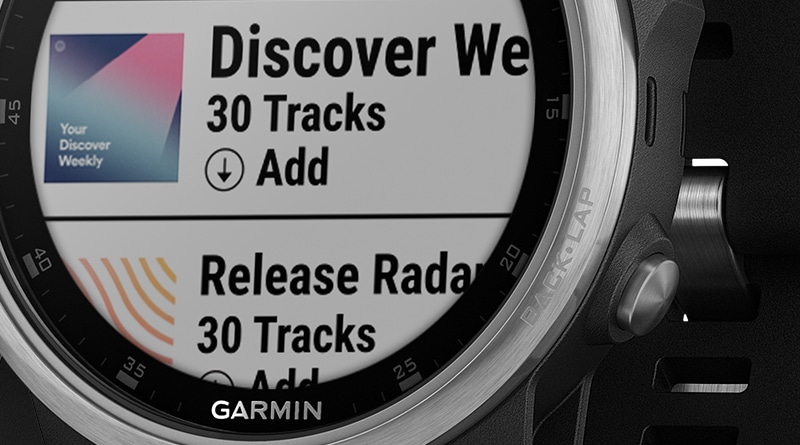 Garmin adds Spotify to Fenix 5 Plus series