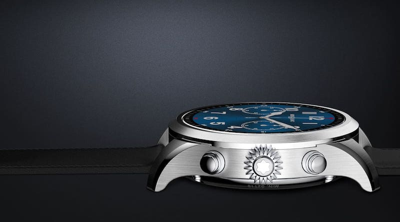 Montblanc Summit 2, the first Snapdragon Wear 3100 watch, has arrived