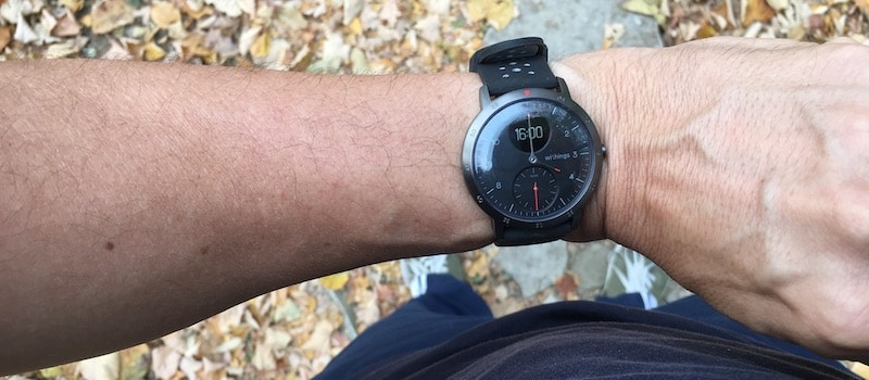 review steel hr sport withings marks its return with a sporty hybrid 5 - Review: Steel HR Sport, Withings is back with a sportier hybrid