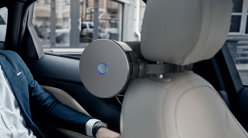 Airbubbl removes toxic air pollution inside your car while you drive