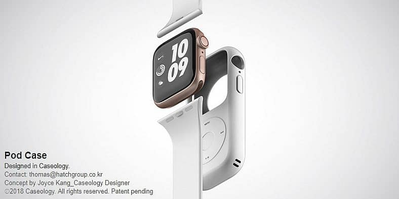 new concept turns the apple watch into the good old ipod 1 - Brilliant concept turns the Apple Watch into the good old iPod