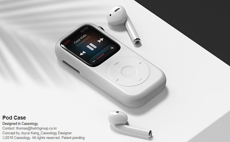 new concept turns the apple watch into the good old ipod 3 - Brilliant concept turns the Apple Watch into the good old iPod