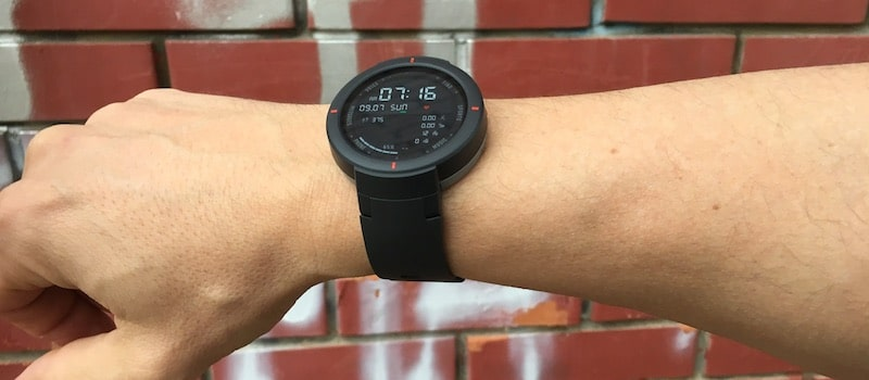 amazfit verge first look smartwatch launches in the us 1 - Amazfit Verge review: GPS sports watch that monitors heart health