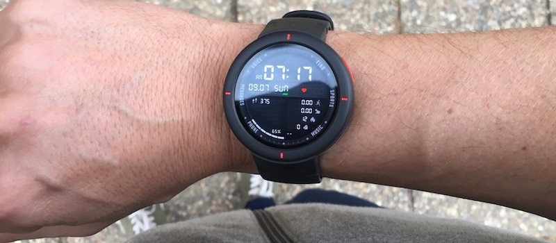 amazfit verge first look smartwatch launches in the us 3 - Amazfit Verge review: GPS sports watch that monitors heart health