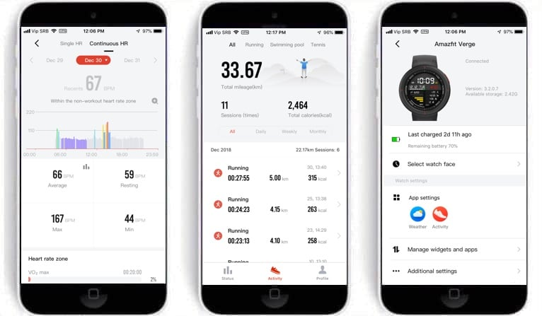 amazfit verge review gps sports watch that monitors heart health 1 - Amazfit Verge review: GPS sports watch that monitors heart health