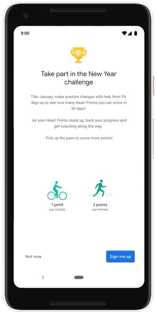 google fit app to bring monthly challenges next year 2 - Google Fit app to bring monthly challenges in 2019