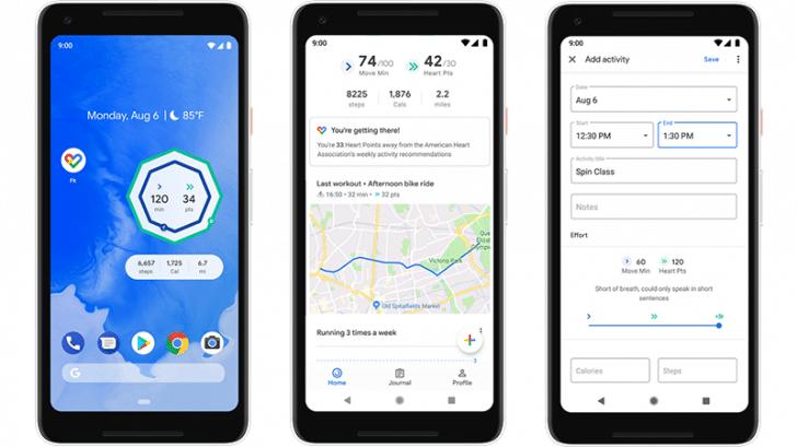 google fit update brings home screen widgets and breathing exercises 1 - Google Fit update brings home screen widgets and breathing exercises