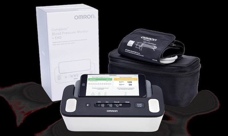 ces 2019 omron launches heartguide along with bpm with ekg capability - CES 2019: Omron launches HeartGuide, along with blood pressure/EKG monitor