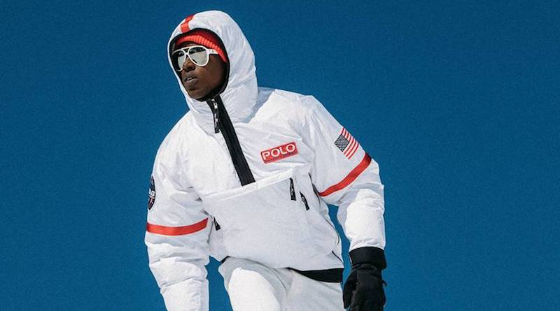 Ralph Laurent's Polo 11 hi-tech jacket will keep you warm in the winter