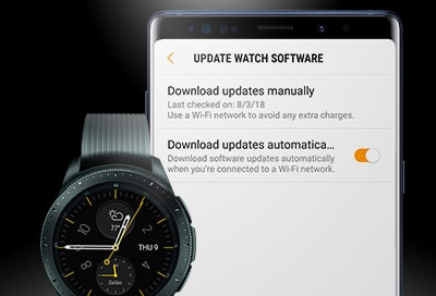 samsung attempts to fix battery issues with latest update for galaxy watch - Samsung tackles battery issues with latest Galaxy Watch update