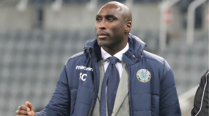 sonda sports sol campbell - Sol Campbell's Macclesfield Town embraces GPS data-tracking technology