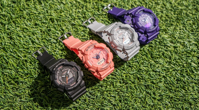 casio s new s series combines a feminine look with legendary g shock toughness 1 - Casio's S Series blends a feminine look with legendary G-Shock toughness