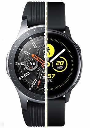 galaxy watch vs galaxy watch active what s the difference 1 - Galaxy Watch vs Galaxy Watch Active: what's the difference?