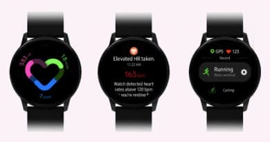 New Samsung Galaxy Watch Active leak shows One UI interface updates