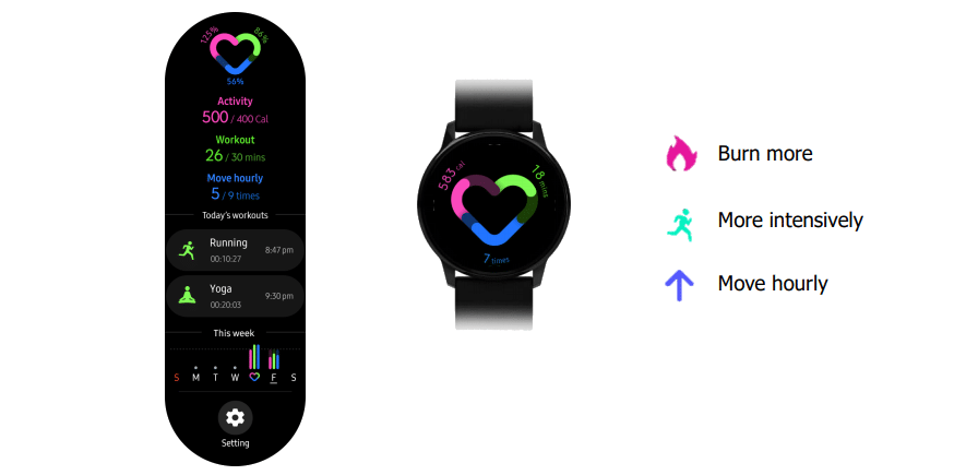 new samsung galaxy watch active leak shows one ui interface updates 1 - Latest Samsung Galaxy Watch Active leak shows One UI interface upgrades