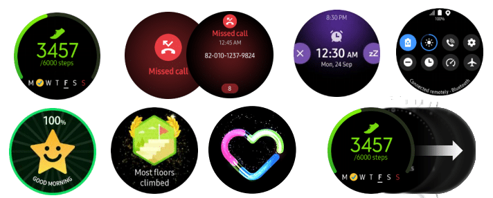 new samsung galaxy watch active leak shows one ui interface updates 2 - Latest Samsung Galaxy Watch Active leak shows One UI interface upgrades