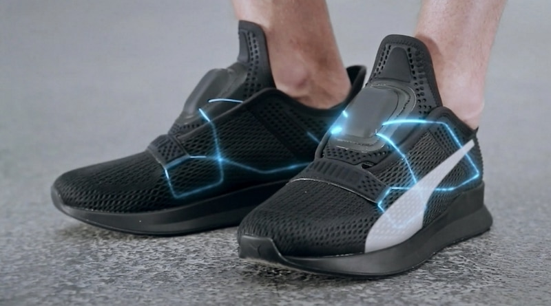 Puma takes on Nike with it's own self lacing sneakers